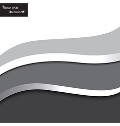 modern background with waves vector image vector image