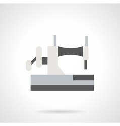 Sewing equipment flat color icon vector image vector image