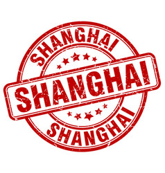 Shanghai stamp vector