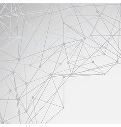 Modern networking background concept vector