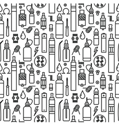 Endless vape background vector
