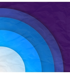Abstract blue circles background vector image