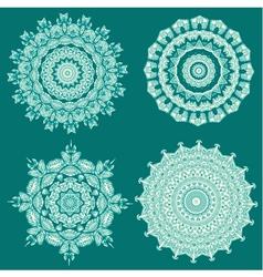 arabesque set5 vector image