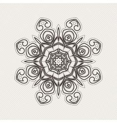 Mandala gothic lace tattoo celtic weave vector