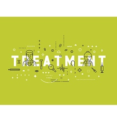 Medicine concept design treatment vector