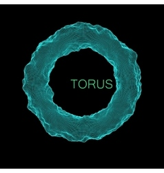 Deformed torus vector