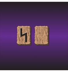 Norwegian rune icons vector