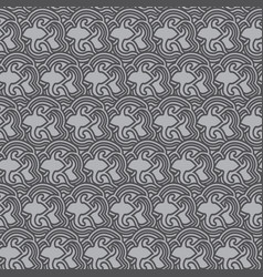 Pattern background thai style vector