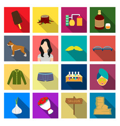 Recreation cooking textiles and other web icon vector