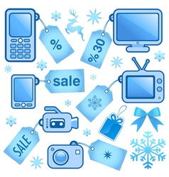 web sale elements vector image vector image