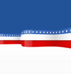 America flag design vector
