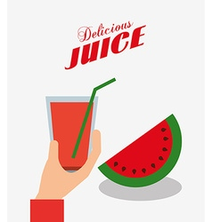Delicious fruits design vector