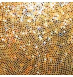 Amazing template orange glittering EPS 8 vector image vector image