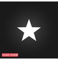 Clasic star - icon vector