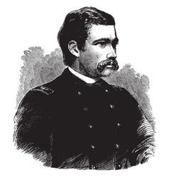 General george d bayard vintage vector