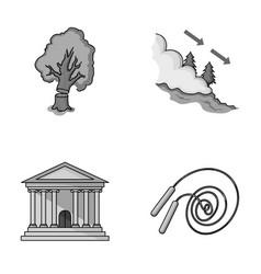 Huntsman finance and other monochrome icon in vector