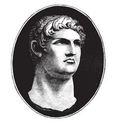 Nero vintage vector