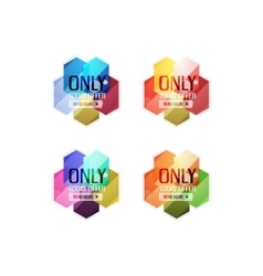 special offer stickers and banners vector image