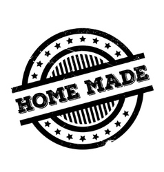 Home made rubber stamp vector