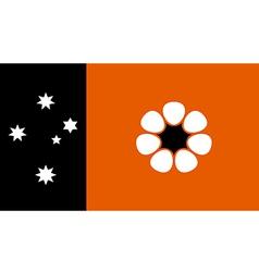 Australian Northern Territory vector image vector image