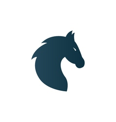 Business horse logo for company firm - isolated vector