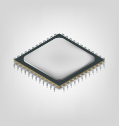 Central processing unit is an isometric vector