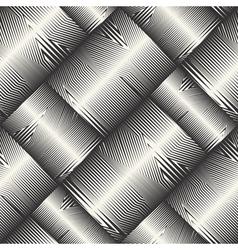 striped blocks pattern vector image