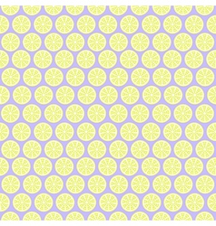 Pastel background with lemons vector