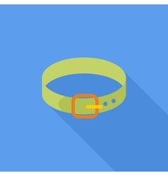 Collar Flat Icon vector image