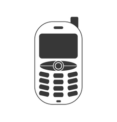 Mobile cellphone gadget communication icon vector