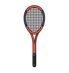 racket tennis sport image vector image
