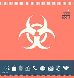 biological hazard vector image