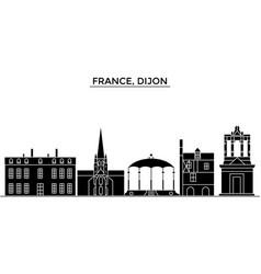 France bourgogne franche comte dijon vector