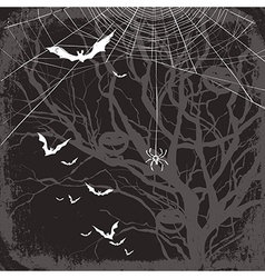 halloween background dark vector image vector image
