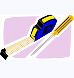 tape and scrod driver vector image vector image