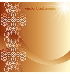 Decorative cover template twelve vector