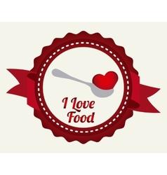 Love food vector