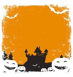 halloween background isolated vector image
