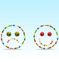 anti depressants vector image vector image