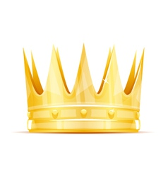 King crown vector image vector image