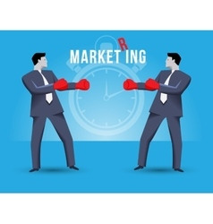 Market ring business concept vector image