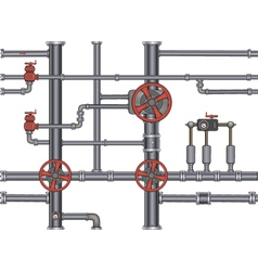 pipeline seamless background vector image