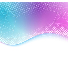 Transparent bright lines background border vector