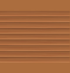 wooden blinds vector image