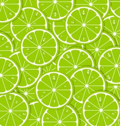 Lime slices vector