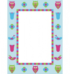frame decoration vector image vector image