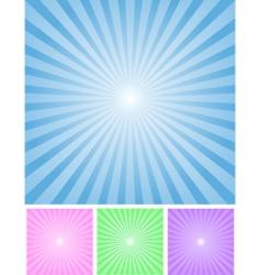 radial bg vector image