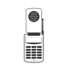 Smartphone cellphone gadget communication icon vector