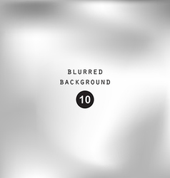 Blurred abstract gradient background silver gray vector
