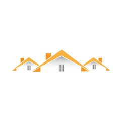 Architectural houses logo vector